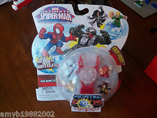 Marvel Ultimate Spider-Man Fighter Pods Series 1 With Red Character NEW LAST ONE