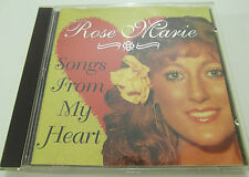 Rose Marie - Songs from My Heart - CD Album 1996 - Used very good