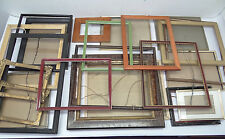 Mixed Lot of 22 Wood Wooden Metal Pictures Art Artwork Porrtrait Frames