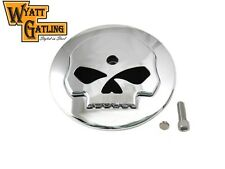 Harley Willie G Skull Chrome Air Cleaner Cover FLHX Street Glide Road King VTWIN