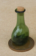 1:12 Green Chemist - Apothecary Bottle & Cork Dolls House Miniature Accessory