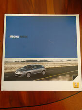 Renault Megane Hatch brochure Oct 2008 Irish market
