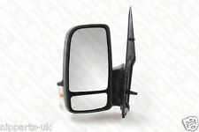 MERCEDES SPRINTER 2006-2013 MANUAL DOOR WING MIRROR LH LEFT NEAR SIDE PASSENGER