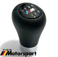 BMW M Leather Shift Knob E39 E60 E63 E90 ZHP OEM 6speed