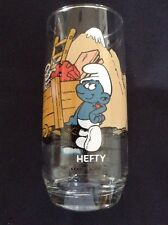 Smurf Hefty 1882 Collectors Glass-unused