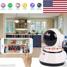 Wireless Pan Tilt 720P Home Security Camera WIFI IP Webcam CCTV IR Night Vision