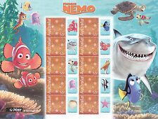 Disney Pixar FINDING NEMO - Special Events Sheetlet