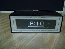 Vintage GE flip number clock alarm lighted dial 492E vintage
