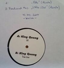 "King Quong ‎  ""LA / True Lies"" * Fleedwood Mac - Little Lies (Housemix), LA 001"