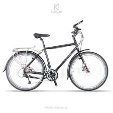 """LKLM 26"""" Discovery Touring Bike Frameset Made of 520 Steel Long Distance Travel"""