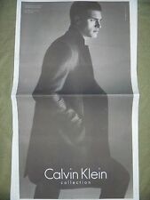 Calvin Klein 2013 New York Times Newspaper Ad Clipping lot Model Vanessa Axente