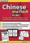 Chinese in a Flash Volume 2 Tuttle Flash Cards