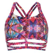 USA Pro Women's Strappy Crop Top Cascade Size 6