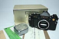 Canon New F-1 50th Anniversary Limited Edition from Japan Mint in BOX