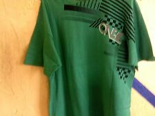 ONE INDUSTRIES  GREEN,MEN SHIRT- XLARGE,SHORT SLEEVES ,100 PER COTTON.RUGBY,POLO