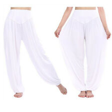 Women's Comfy Harem Genie Aladdin Gypsy Dance Exercise Yoga Pants Loose Trousers