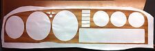 Toyota Celica TA 23-Instrument panel Sticker