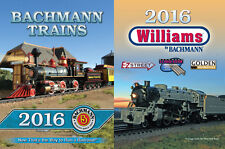 BACHMANN  ALL  SCALE  CATALOG #2016  PASSENGER TRAINS  AND LOCOMOTIVES  FOR SALE