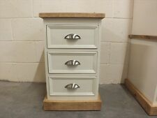 RUTLAND PAINTED BEDSIDE CABINET HAND MADE ROUGH SAWN BESPOKE COLOUR SIZES