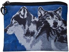 Wolf Change Purse, Wolves Coin - From my Original Oil Painting,  Spirited Pack