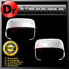 02-08 Dodge Ram 1500+2500+3500 HD Triple Chrome Half Flip Towing Mirror Cover