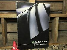 2003 RANGE ROVER HSE FULL SIZE OWNERS MANUAL ((BUY OeM) FAST PRIORITY SHIP