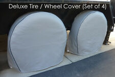 "Tire Wheel covers fits tire 33.5""-36.5"" RV's, Trailers, Truck, Van, SUV Set of 4"