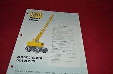 Coles S1210 Olympus Truck Crane Dealer's Brochure DCPA4