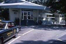 VTG 1960's  EXTERIOR OFFICER'S MESS AT CLARK AIR FOCE BASE 35mm SLIDE NEGATIVES