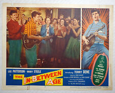 The In-Between Age movie lobby card poster vtg 1958 rockabilly rock n roll