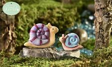 Glow in Dark Mini Snails 2 Sizes Resin Mini Aquarium Decor Mermaid Lovers New