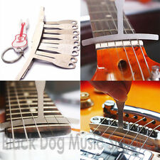 Guitar Fretboard Fingerboard Radius gauge set of 9 free bridge pin puller
