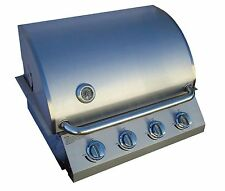 "Diamondback Built-In Grill/4 Burner/Propane/LP/Natural Gas/26""/Drop/Stainless/NG"