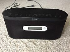 Sony Air-SA10 Wireless Speaker System LCD Clock / No Transceiver