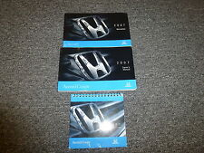 2007 Honda Accord Coupe Owner Owner's User Guide Manual Book EX EX-L LX V6