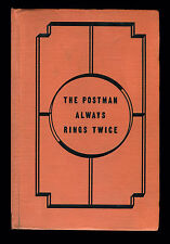 The Postman Always Rings Twice, James A. Cain (Grosset Dunlap, 1934)