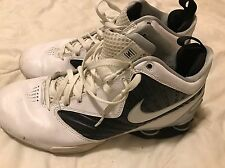 Pair Of Nike Shox Basketball Sneakers, Size 10.5