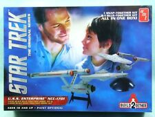 2014  STAR TREK ENTERPRISE BUILD 2 kits 2GETHER new in the box 1/650 & 1/1000