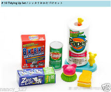 Japan Original Dollhouse Baby Tidying Up Set Daily Necessities Toy Rement Size