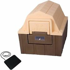 """ASL Solutions Insulated DP Hunter Dog House W/ Floor Heater  23.5""""H x 26""""W x 29"""""""