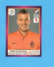 PANINI-EURO 2012-Figurina n.181- VAN DER VAART - OLANDA -NEW-DARK BOARD