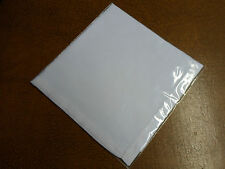 A PACK OF 3 WHITE LINEN RALPH LAUREN HANDKERCHIEFS