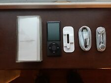 Apple iPod nano 5th Generation Black (16GB) New
