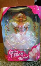 1995 Mattel Barbie Happy Birthday Blond Hair 14649 Translucent dress