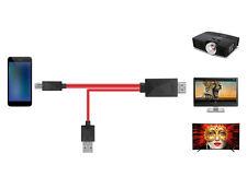 MHL Micro USB zu HDMI HDTV 1080P Adapter Kabel für Samsung Galaxy S3 S4 S5 Note3