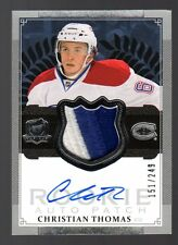 2013-14 The Cup Christian Thomas Autographed 2 Color Patch Rookie Card /249