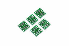 5pcs sop8 / tanto / SSOP / MSOP / Tssop / SOIC a DIP8 Adapter Modulo Smd FLUX Workshop