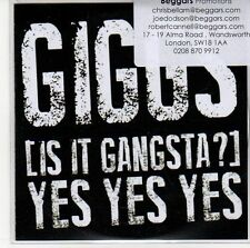 (ED889) Giggs, Is It Gangsta? (Yes Yes Yes) - 2013 DJ CD