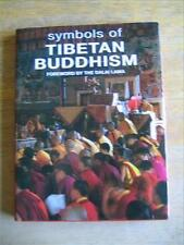 Symbols of Tibetan Buddhism, foreword by Dalai Lama, Color Photos, HCDJ, 2000