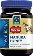 NEW Manuka Health Manuka Honey MGO 400+ 500g -The Best Manuka Honey in the World
